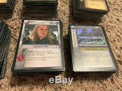 1,300+ Card Lot Lord of The Rings Trading Card Game Collectible Card Game