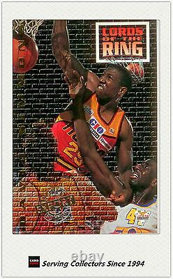 1994 Australia Basketball Card NBL S1 EXPORT Lord Of The Ring LR5 D. Simmons