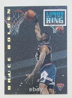 1994 Futera NBL Series II Basketball Lord Of The Rings #LR8 Bruce Bolden