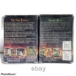 2 Lord of the Rings Trading Card Game Starter Decks Frodo and Theoden