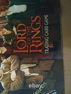 2001 Lord of the Rings Trading Card Game Store Promo Poster New 27 x 27