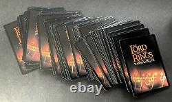 2001 The Lord Of The Rings Trading Card Games Gandalf Deck & Aragorn Deck Opened