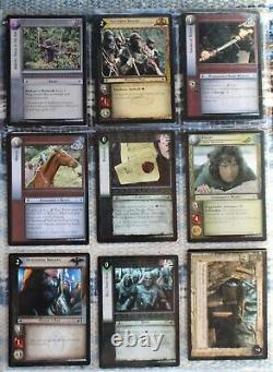 2002 Lot 18 Lord of the Rings Two Towers LOR Trading Cards & Trading Card Game