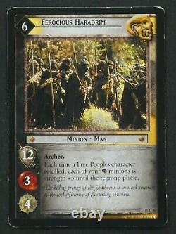 2004 The Lord of the Rings Trading Card Game (TCG) Ferocious Haradrim / Minion
