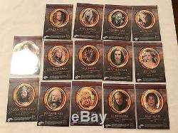 2004 Topps Lord of the Rings Trilogy Chrome Autograph Trading Card Set SEE DESC