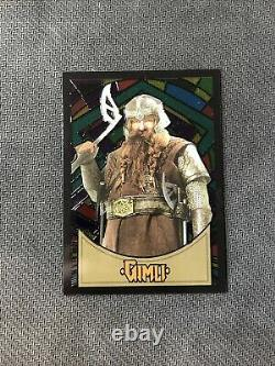 2006 Topps Lord Of The Rings Evolution Gimli Rare Stained Glass #s-6