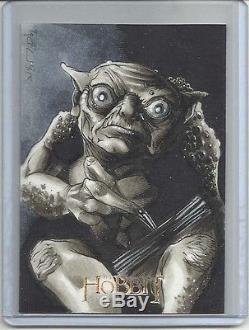 2014 The Hobbit An Unexpected Journey RICHARD COX Sketch Card PACK FRESH