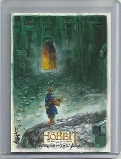 2015 The Hobbit Desolation of Smaug Sketch Card JASON POTRATZ & JACK HAI