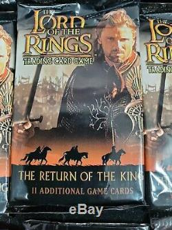 36 Unopened Lord of the Rings The Return of the King Trading Card Game Packs