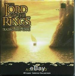 75% OFF Lord of the Rings LOTR Trading Card Game TCG Fixed Promo Ages End Set