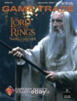 Alliance Game Trade Mag #21 Lord of the Rings Trading Card Game EX
