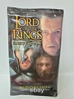 BLOODLINES Booster Pack The Lord of the Rings Trading Card Game New Sealed