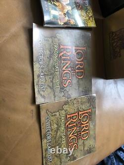 Bin 2 X Lord of the Rings Trading Card Game Inc 148 Cards