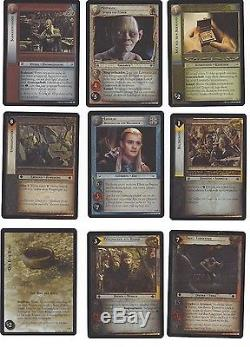 CCG 71 Lord of the Rings /Hobbit 11RF 1- 18 Foil Set