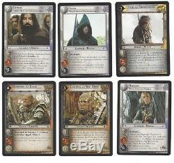CCG 73 Lord of the Rings /Hobbit Expandet Middle Earth Set 14R1-15
