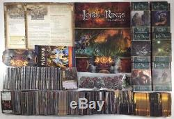 Fantasy Fl LotR CCG Lord of the Rings Card Game Collection #4 Base Gam Box EX