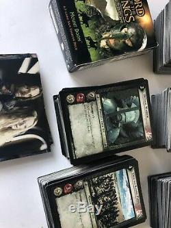 HUGE! Lord Of The Rings, Trading Card Game, (Over 1,500 Cards) 50+ Holos