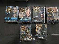 Huge Lot of Lord of the Rings Trading Card Game Approx 4,000+ Cards. Good cond