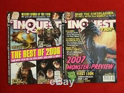 Inquest Gamer Magazine Lot of 26 Magic the Gathering Strategy CCG D&D LOTR MK 2