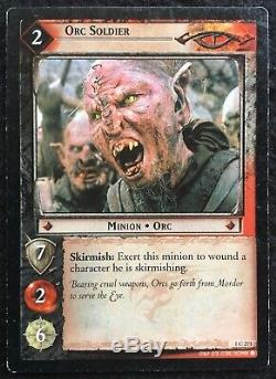 LORD OF THE RINGS 100 Trading Card Game, Incomplete Set, Decipher, 2001/2002