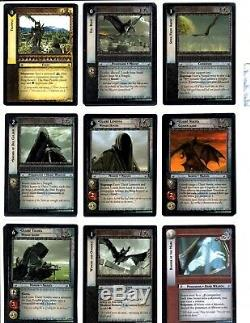 LORD OF THE RINGS LoTR ENTS OF FANGORN COMPLETE TRADING CARD SET LAST ONELOT