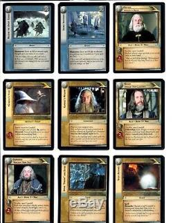 LORD OF THE RINGS LoTR MINES OF MORIA MoM COMPLETE 122 CARD SET + MORE