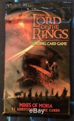 LORD OF THE RINGS TCG 53 MOUNT DOOM FACTORY SEALED BOOSTER PACKS PLUS MORE pks