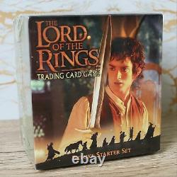 LORD OF THE RINGS TCG CCG Trading Card Game Fellowship Ring DELUXE STARTER SET