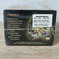 LORD OF THE RINGS TCG CCG Trading Card Game Two Towers DELUXE STARTER SET Deck