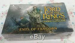 LORD OF THE RINGS TCG Ents of Fangorn 36 Booster Packs Box! NEW! SEALED
