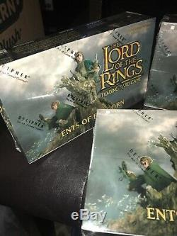 LORD OF THE RINGS TCG Ents of Fangorn Cards Booster Packs 3 Box Lot Decipher NEW