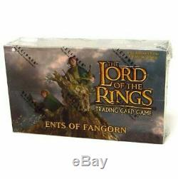 LORD OF THE RINGS TCG Ents of Fangorn Sealed Booster Box