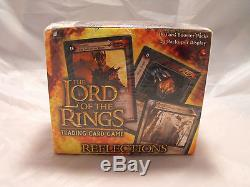 Lord Of The Rings Tcg Reflections Complete Sealed Box Of 24 Packs