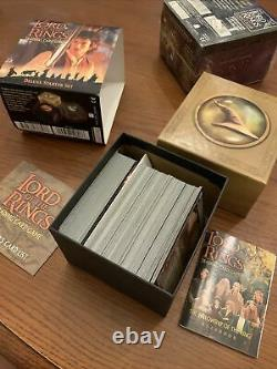 LORD OF THE RINGS Trading Card Game 2 Deluxe Starter Sets-1 SEALED and 1 opened