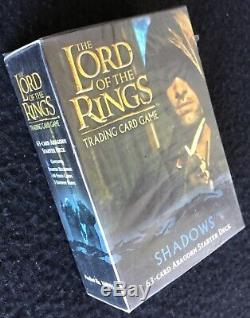 LORD OF THE RINGS Trading Card Game, Shadows, 63 Card Aragorn, Sealed, CE 2004