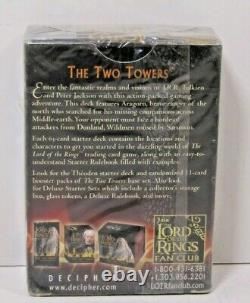 LORD OF THE RINGS Trading Card Game The Two Towers Aragorn Starter Deck SEALED