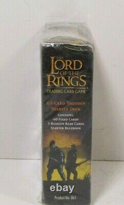 LORD OF THE RINGS Trading Card Game The Two Towers Thoden Starter Deck SEALED