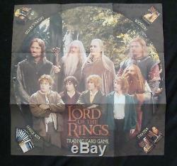 LORD OF THE RINGS trading card game promo poster original comic book store promo