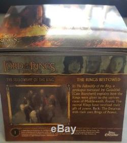LOT OF TOPPS 2004 LoTR LORD OF THE RINGS TRILOGY NEW TRADING CARDS
