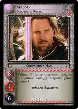 LOTR Aragorn, Defender of Rohan (P) Lightly Played Lord of the Rings TCG Deci