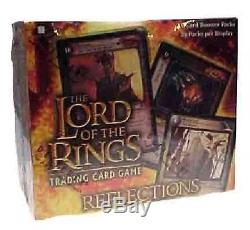 LOTR CCG Reflections Booster Box New Sealed