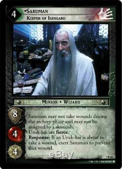 LOTR CCG TCG Realms Of The Elf Lords COMPLETE 122 CARD Set NON FOIL