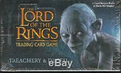 LOTR CCG Treachery & Deceit Booster Box FACTORY SEALED LONG OUT OF PRINT! RARE