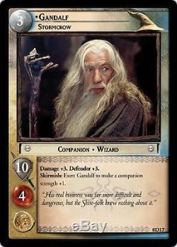 LOTR Gandalf, Stormcrow (P) Mint/Near Mint Lord of the Rings TCG Decipher