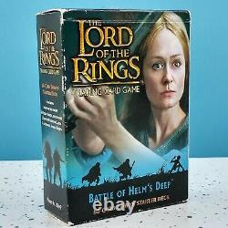 LOTR Lord Of The Rings Battle Of Helms Deep Trading Card Game Starter Deck Pack