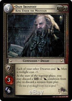 LOTR Lord Of The Rings TCG Expanded Middle Earth 15 Card Complete Set 14R1-14R15