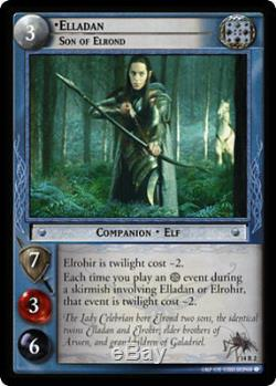 LOTR Lord Of The Rings TCG Expanded Middle Earth Complete Set 14R1 14R15