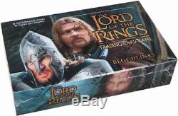 LOTR Lord of The Rings TCG Bloodlines Booster Box + Free Pack to Open