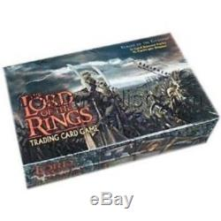 LOTR Lord of The Rings TCG ROTEL Realms Elf Lords Booster Box sealed