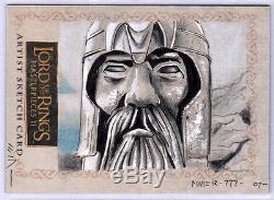 LOTR Lord of the Rings MASTERPIECES 2 II SKETCH ARGONATH by STEVEN MILLER